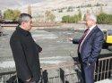 Başkan Başsoy, gazetecilere açıklamalarda bulundu