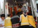 Aksaray'da minibüsle otomobil çarpıştı: 6 yaralı