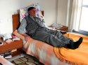 Emekli öğretmen, kızına yük olmamak için huzurevinde yaşıyor