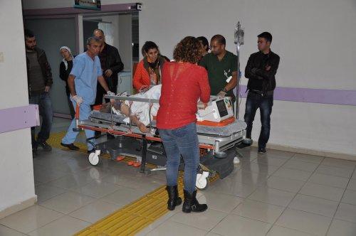 Tunceli'de otomobilin çarptığı kadın ağır yaralandı