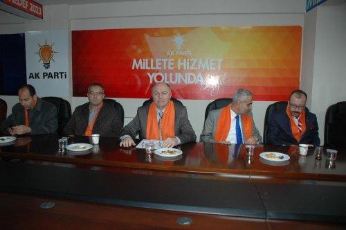 AK Parti Çorlu ilçe yönetimi tanıtım toplantısı