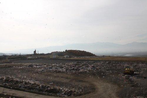 Bingöl'de günlük 120 ton çöp toplanıyor