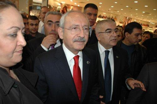 CHP Genel Başkanı Kılıçdaroğlu Çorlu'da