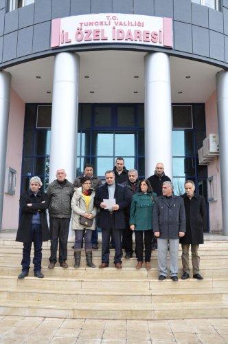 MHP Genel Başkanı Bahçeli'nin Tunceli ziyareti
