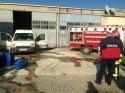 Çorlu'da kimyasal madde patlaması