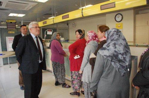 PTT Tekirdağ Başmüdürü Ersoy'dan Malkara'ya ziyaret