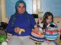 Engeline rağmen ailesinin geçimi için mücadele ediyor