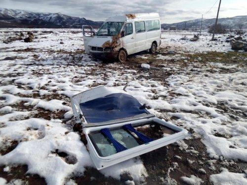 Bingöl'de trafik kazası: 6 yaralı