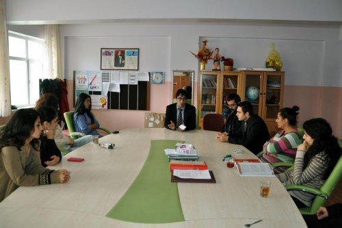 İlçe Milli Eğitim Müdürü Çakmak, okulları ziyaret etti