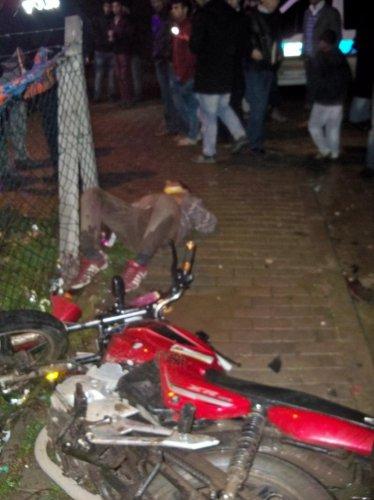 Tekirdağ'da trafik kazası 2 yaralı
