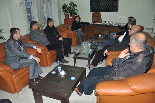Yüksekova Belediye Başkanı Yetişkin'e ziyaret