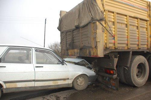 Tekirdağda Trafik Kazası 1 Yaralı