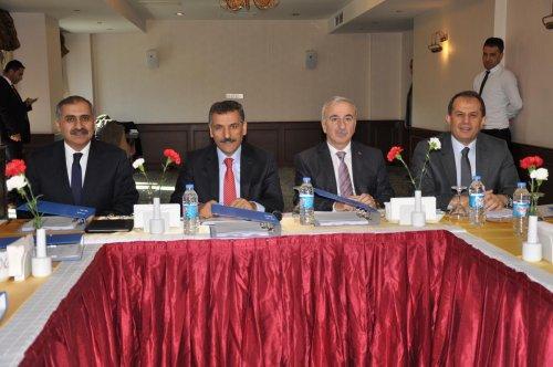 FKA Yönetim Kurulu Toplantısı, Tunceli'de yapıldı