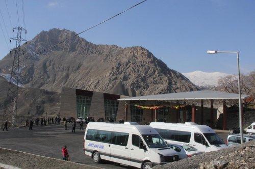 Hakkari'de otobüs terminali hizmete girdi