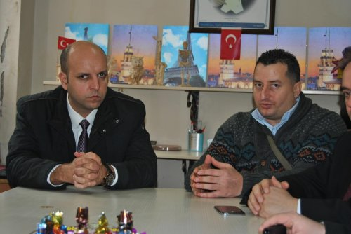 Hayrabolu Belediye Başkanı Altayoğlu'dan, Engelsiz Yaşam Derneği'ne ziyaret