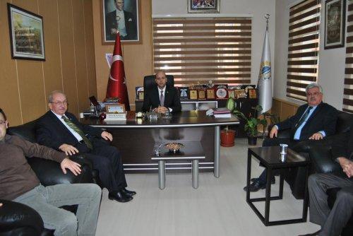 Tekirdağ Büyükşehir Belediye Başkanı Albayrak'tan Hayrabolu Belediyesi'ne ziyaret