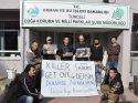 Tunceli'de doğaseverlerden avcılık tepkisi