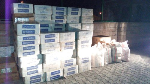 Adilcevaz'da sigara kaçakçılığı