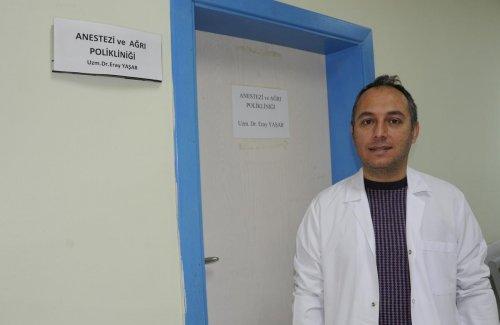 Ahlat'ta ağrı polikliniği açıldı