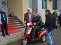 Ergene Belediyesinden tekerlekli sandalye desteği