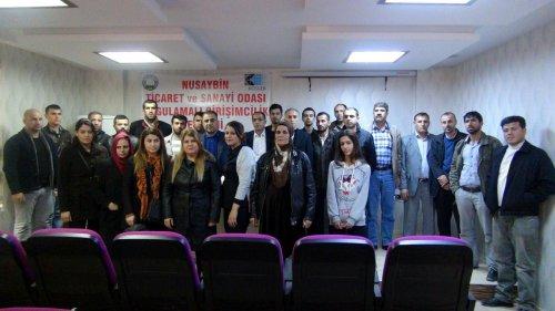 Nusaybin'de girişimci adaylarına kurs