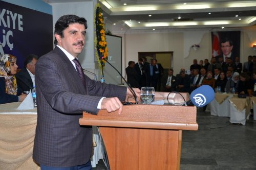 AK Parti Genel Başkan Yardımcısı Aktay, Mardin'de