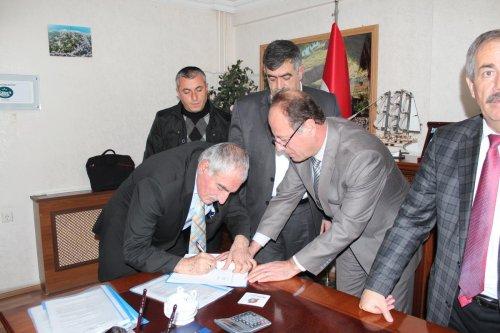Adilcevaz Belediyesinde toplu iş sözleşmesi