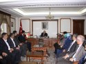 Belediye Başkanı Bahçeci, Vali Şentürk'ü ziyaret etti