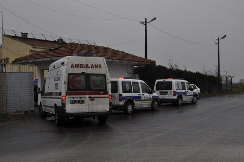 Çerkezköy cezaevinde yangın tatbikatı