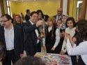 Aksaray'da engelli öğrencilerin el emeği ürünleri sergilendi