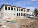 Arıcan, okul inşaatlarını inceledi