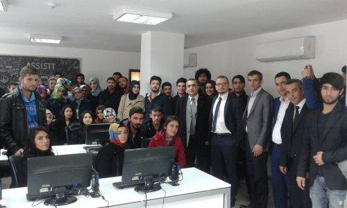 BEÜ öğrencilerinden, çağrı merkezine ziyaret