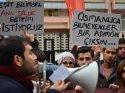 CHP Ankara İl Gençlik Kolları MEB önünde eylem yaptı