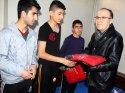 Siirt Valisi Tutulmaz'dan amatör tekvandoculara ödül