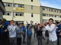 Siirt'te lise öğrencileri müdür değişikliğini protesto etti
