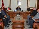 Yunus Emre Derneği yöneticileri, Vali Şentürk'ü ziyaret etti