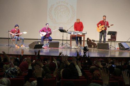 Afyonkarahisar'da Grup Yürüyüş konseri