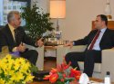 Ankaragücü Başkanı Akyüz, Taşdelen'i ziyaret etti