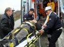 Bilecik'te kamyonet devrildi: 2 yaralı