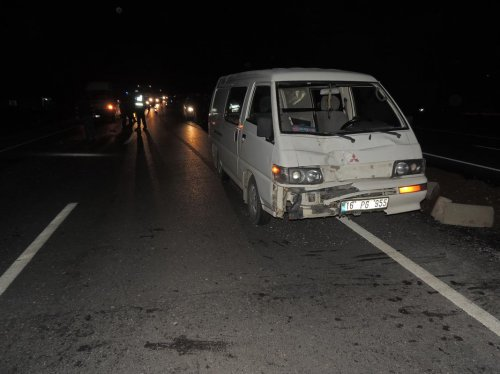 Denizli'de trafik kazası: 1 ölü