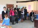 Eleşkirt'te Kardeş Okul Projesi