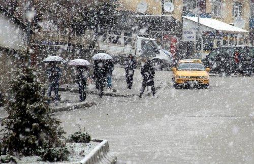 Hakkari kar yağışı