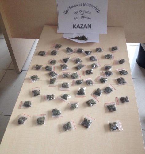 Kazan'da uyuşturucu operasyonu