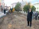 Suşehri'nde alt yapı çalışmaları devam ediyor