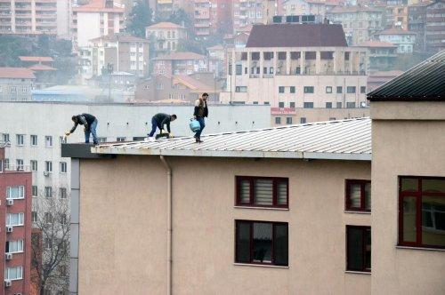 Zonguldak'ta işçilerinin tehlikeli çalışması