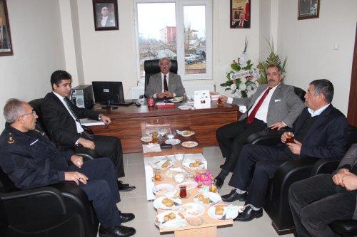 AK Parti Adilcevaz İlçe Başkanı Tutçu'ya ziyaret