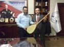 Aksaray'da hükümlü ve tutuklulara saz ve bağlama bağışı yapıldı