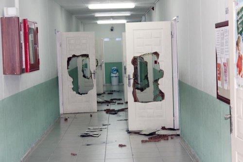 Cezaevi firarisi, hırsızlık için girdiği okulda yakalandı