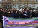 DBP'nin gözaltı ve tutuklanmalara yönelik yürüyüşü