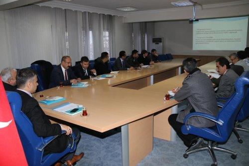 Hakkari'de DAKA bilgilendirme toplantısı